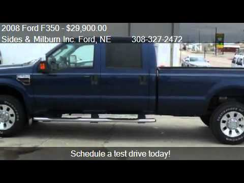 2008 Ford F350 Lariat Crew Cab Long Bed 4WD - for sale in Ru - YouTube