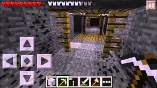 Minecraft PE Survival: Ep. 9 - Death By Lava!!!
