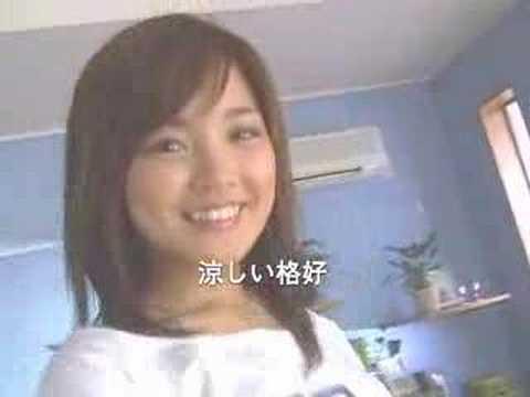 国仲涼子 省エネ CM スチル画像。CM動画を再生できます。