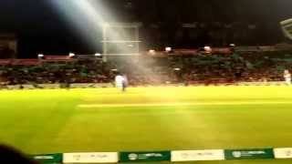 Help For Heroes Charity match - Winning shot by MS Dhoni- 17.09.15