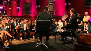 Tariq Ramadan clash 2014 in Oxford university :: Al Jazeera :: smile its sunnah.