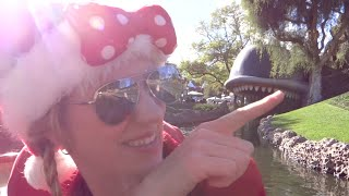 Disneyland Vlog November 2014: Day 3 Part 2 - Disneyland Park and Holiday Fireworks (Episode 123)
