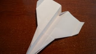 Awesome Original Paper Airṗlane - SPECIAL FIGHTER Tutorial - HPA 13.