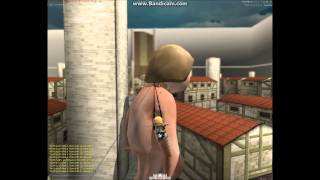 shingeki ni kyojin gamu Noob-Gameplay