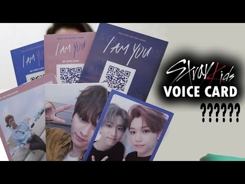 STRAY KIDS - I AM YOU VOICE CARD??