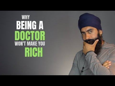 Being A Doctor Doesn't Make You Rich