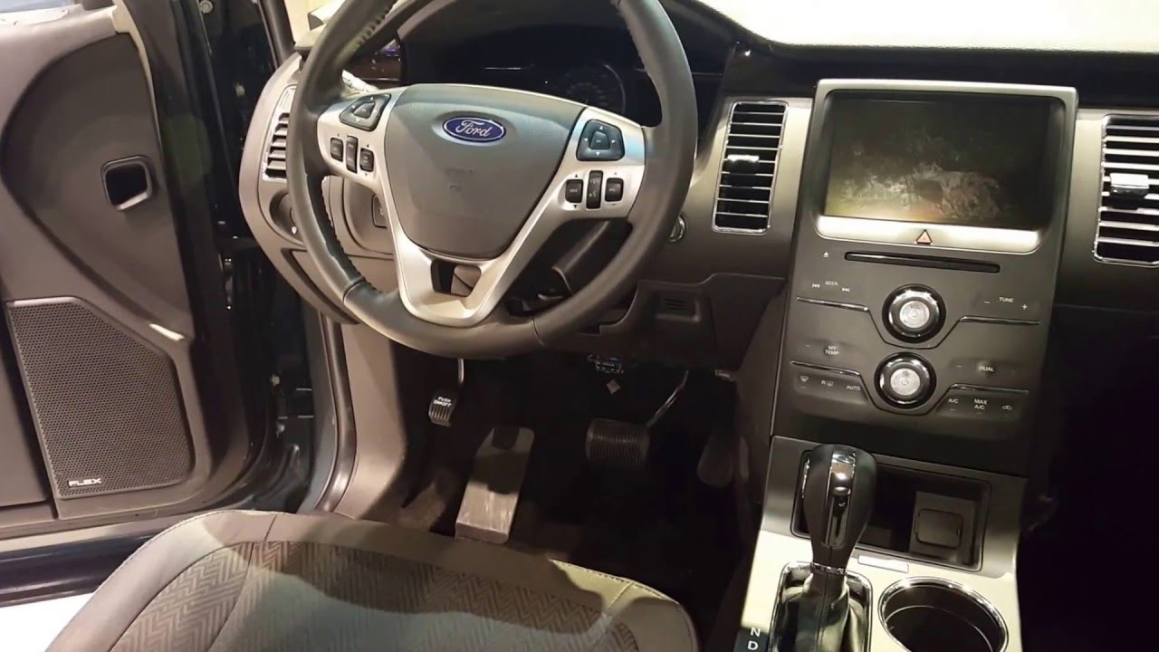 2016 ford flex sel interior 2016 chicago auto show youtube