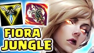 FIORA BUFFS MADE HER A MONSTER!!! FIORA JUNGLE OBLITERATES TOWERS NOW | NEXT LEVEL REFLEX|BIG DAMAGE