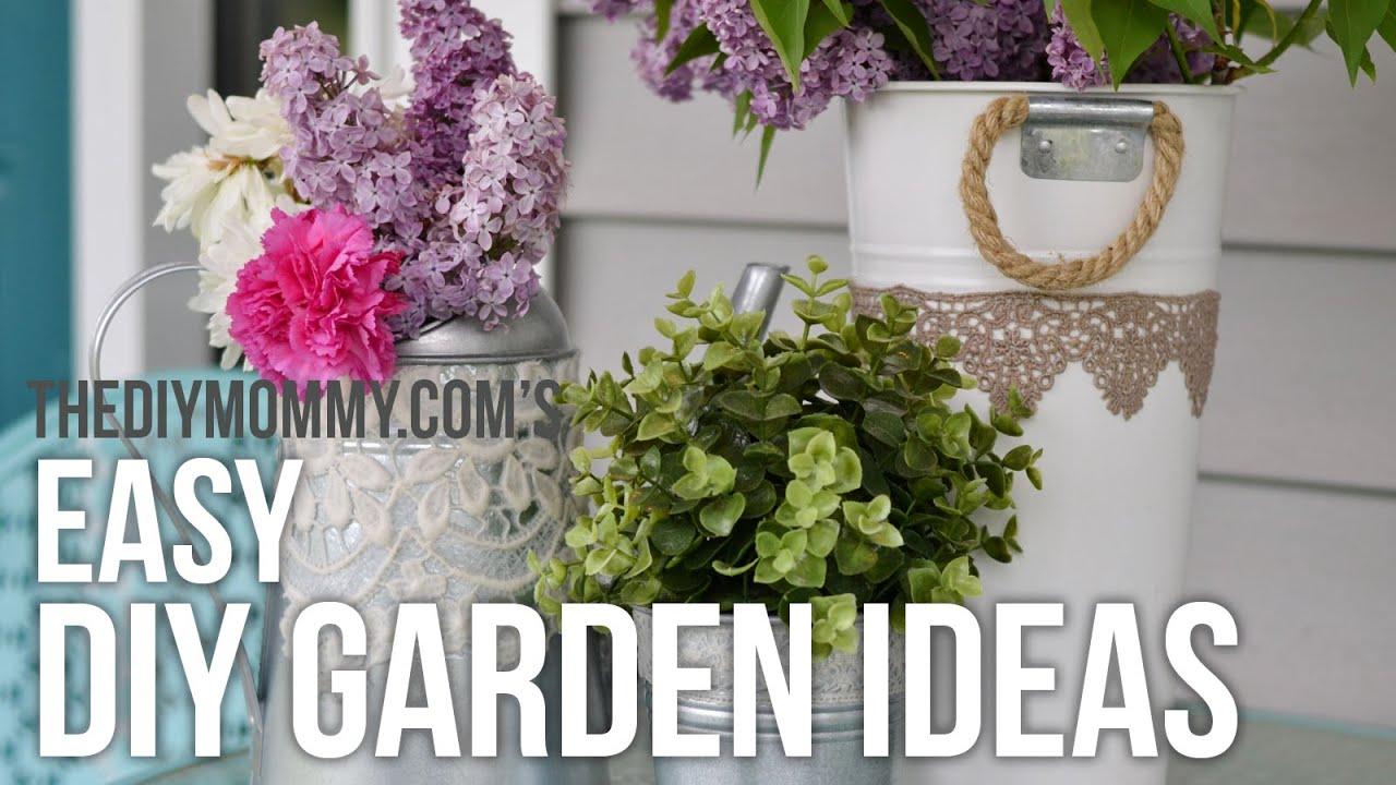 Flower Garden Craft Ideas