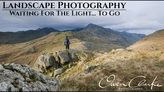 Landscape Photography | Waiting For The Light To Go : Moel Berfedd