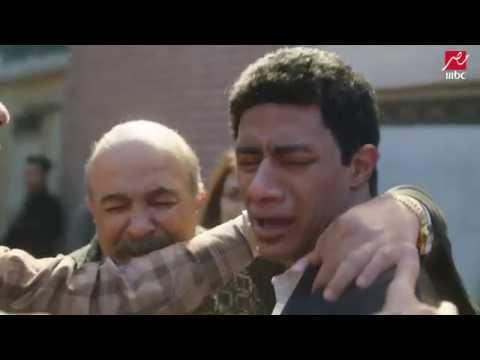 لحظة وصول ناصر للمشرحة لاستلام جثة اخوه رفاعي فى #الإسطورة