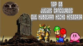 Top 08: Juegos Cancelados que Hubieran Hecho Historia