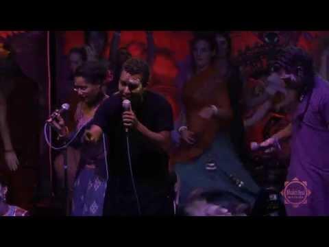 """Kirtaniyas And DJ Drez Feat. Srikology """"Nitai Gauranga"""" Live Bhakti Fest West 2013"""