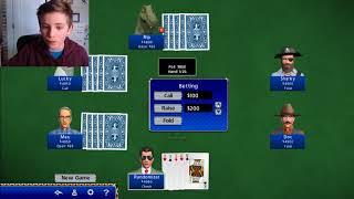 Hoyle card games: Poker!
