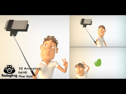 selfie logo with 3d character after effects template youtube