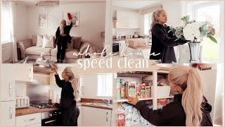 FULL HOUSE SPEED CLEAN | extreme cleaning motivation/all day cleaning routine 2020