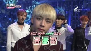 [VIETSUB] 161025 BTS @ Show Champion Behind
