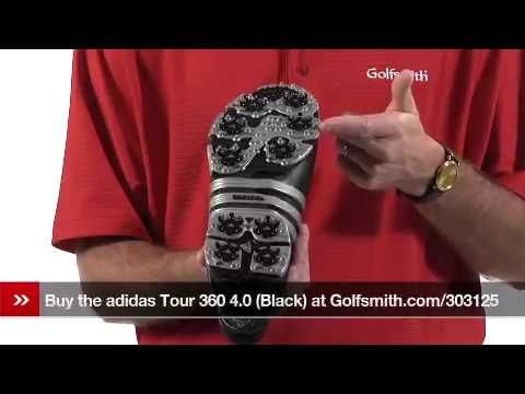 27b7b2081d83 adidas Black Tour 360 4.0 Golf Shoes Review - YouTube