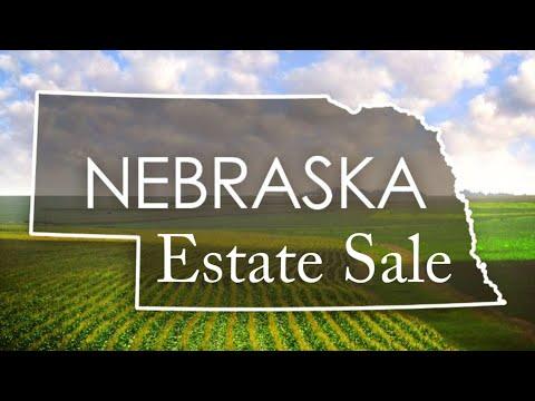 Nebraska Estate Sale