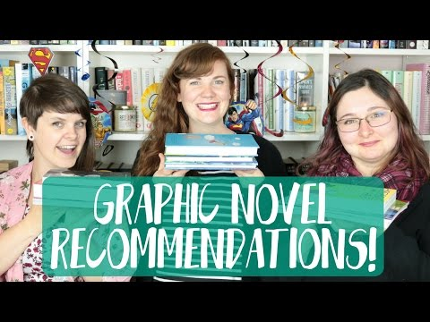 GRAPHIC NOVEL RECOMMENDATIONS!