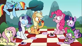 Cinnamon and Watchful Eye (Pinkie Pie Comic Dubs)