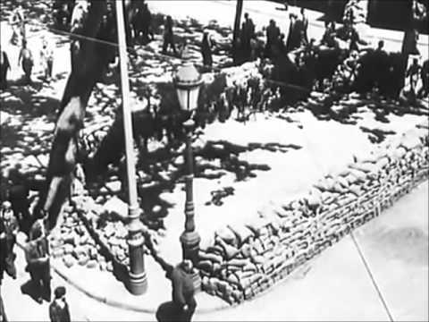 GUERRA CIVIL ESPAÑOLA: Hechos de Barcelona (mayo de 1937)