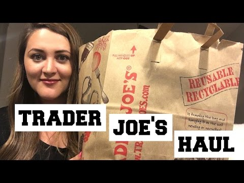 Trader Joe's Haul - Food & Wine