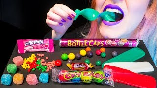 ASMR: Popular American Candy | Hard & Soft Candy Sweets ~ Relaxing Eating Sounds [No Talking|V] 😻