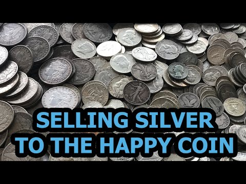 Selling U.S. Silver To The Happy Coin - Our Process