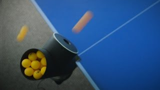 Playing ping pong with a robot