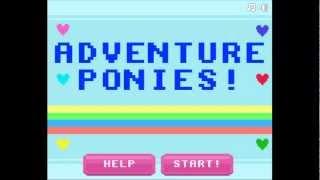 Let's Play Flash Games: Adventure Ponies Part 1 - Twilight Sparkle