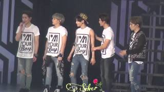 20141210 「SHINee World I'm your boy 」Ending SHINee full Resimi