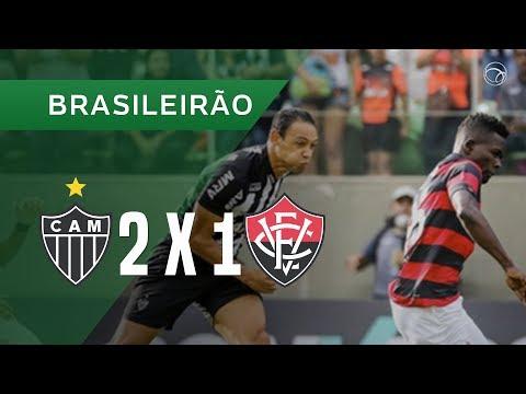 ATLÉTICO-MG 2 X 1 VITÓRIA - 22/04 - BRASILEIRÃO 2018