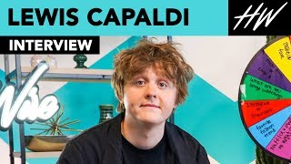 Lewis Capaldi Talks About Billie Eilish & Admits He Has Tiny Feet!! | Hollywire