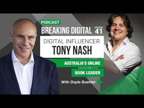 Tony Nash - Australia's Online Book Leader