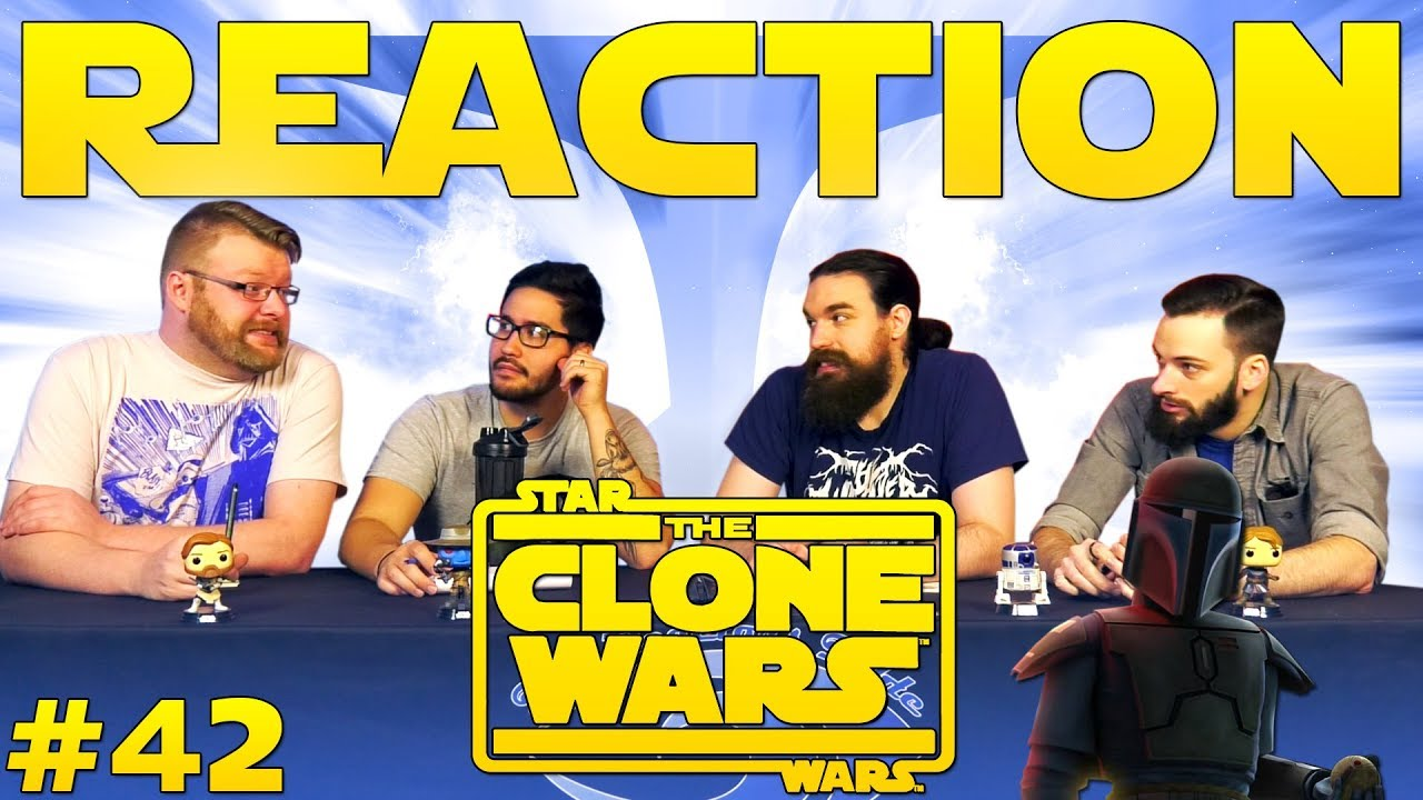 Star Wars: The Clone Wars #42 REACTION!!