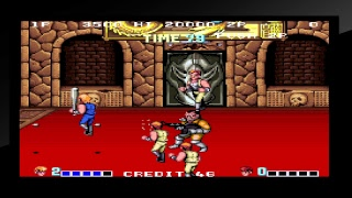 Double Dragon PlayStation Pro Gameplay