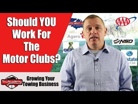 Should You Work For The Motor Clubs?