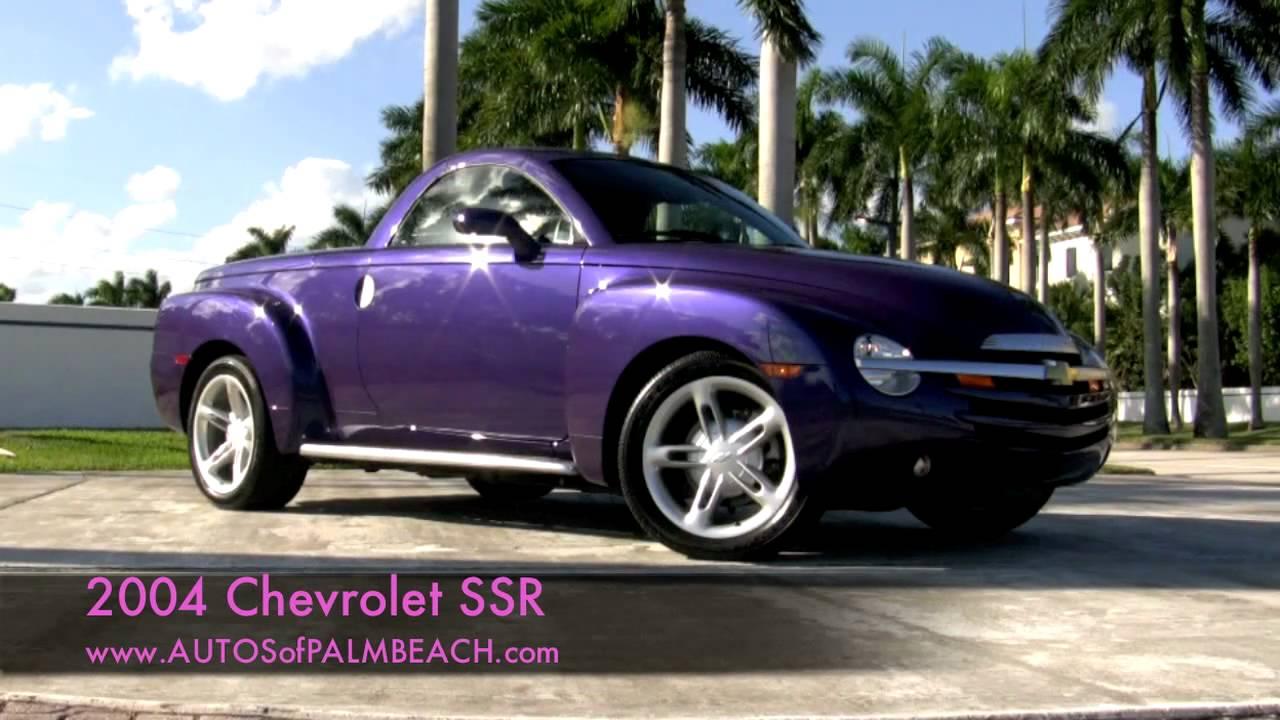 2004 Chevrolet Ssr Super Sport Roadster