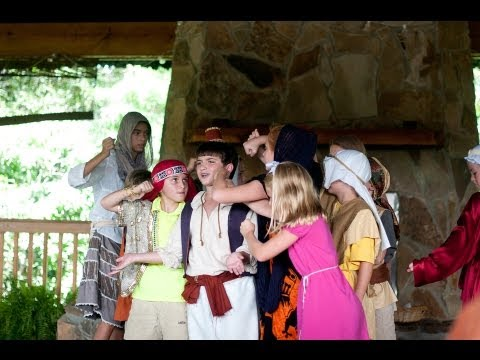 Eastern Shore Repertory Theatre - Aladdin - Summer Camp 2013 (PART 1)