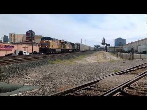 Union Pacific Railroad, Las Vegas, Nevada - April 24, 2012