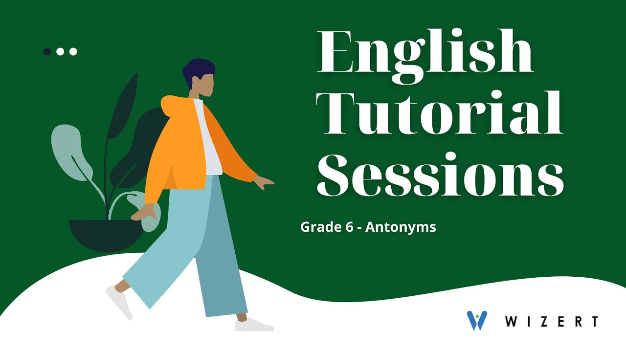 medium resolution of 6 Grade English Worksheets - Antonyms worksheets for Grade 6 - Set  1606294041 - YouTube