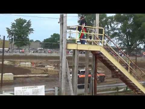 Rush County Fair Demolition Derby 2018