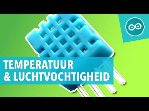 Arduino les 13: DHT11 luchtvochtigheid en temperatuur sensor