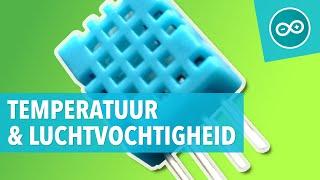 #13 DHT11 luchtvochtigheid en temperatuur sensor