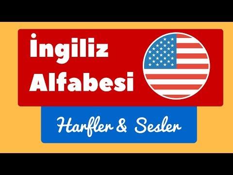 İngilizce Alfabe - En Kapsamlı Ders - İngilizce Harfler & Sesler