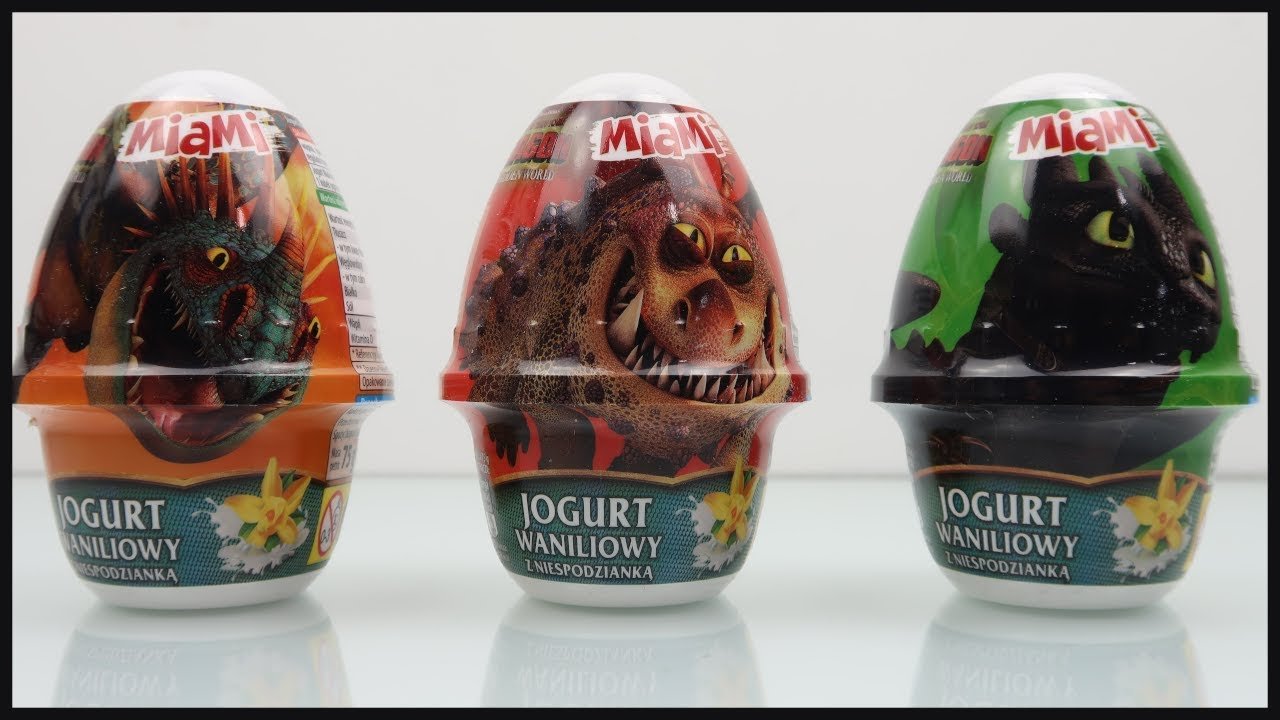 How To Train Your Dragon 3 Surprise Eggs #howtotrainyourdragon #surpriseeggs #surprise