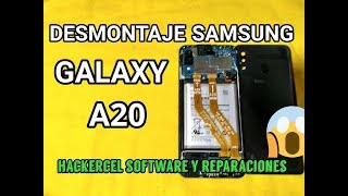 Samsung A20 Disassembly / Samsung A20 Teardown || How to Open Samsung A20