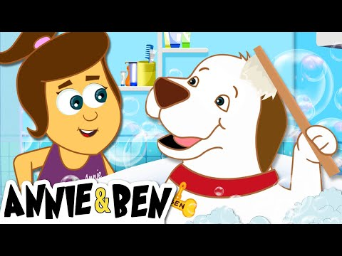 A Scrub In The Tub | Storybook for Children | Fun Learning For Toddlers by Annie and Ben