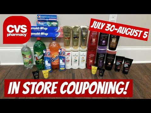 CVS IN STORE COUPONING 7/30/17-8/5/17! $6 P&G MONEYMAKER DEAL!